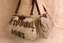 Antique German Flour Sacks